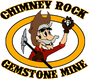 Chimney Rock Gem Mine Logo